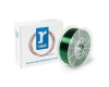 Filament 3D zielony transparentny 1,75 mm PETG 1 kg, REAL